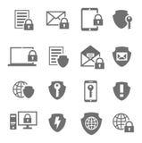 Schutztechnologie und -wolke der kommerziellen Daten Lizenzfreies Stockfoto