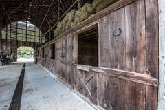 Schuur bij de Biltmore-Landgoederen royalty-vrije stock afbeelding