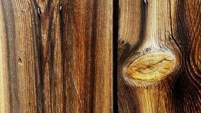 schuur houten knoop Royalty-vrije Stock Afbeelding