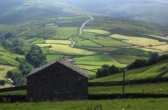 Schuur in Yorkshire. Royalty-vrije Stock Afbeelding
