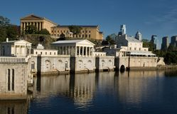 Schuylkill River royalty free stock photography