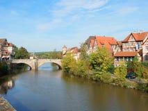 Schwäbisch Pasillo, Alemania foto de archivo