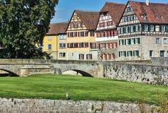 Schwäbisch Pasillo, Alemania imagenes de archivo