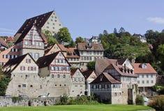 Schwäbisch Salão, rttemberg do ¼ de Baden-WÃ, Alemanha Fotos de Stock Royalty Free