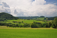 Schwäbische Landschaft Lizenzfreies Stockfoto