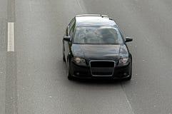 Schwärzen Sie Auto stockbild