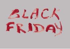 Schwärzen Sie Freitag Lizenzfreies Stockfoto