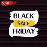 Schwärzen Sie Freitag Verkauf vektor abbildung