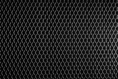 Schwärzen Sie Metallhintergrund Lizenzfreie Stockfotografie