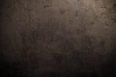 Schwärzen Sie Metallhintergrund Die Oberfläche der Wanne zum Ofen ton stockbilder