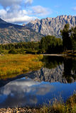 Schwabacher's Landing in the Grand Tetons Stock Photos