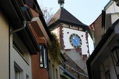 Schwabentor en Friburgo, Alemania Fotos de archivo libres de regalías