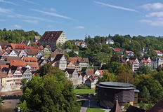 Schwabisch霍尔,德国 库存图片
