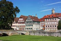 Schwabisch Hall,Baden-Wurttemberg,Germany Stock Photography