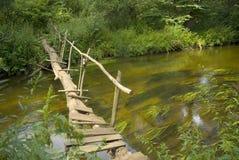 Schwache Brücke lizenzfreies stockfoto