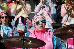 Schwaebisch Gmuend, Germany- February 23, 2019: 36th International carnival music festival