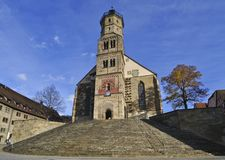 Schwaebisch Hall Church Stock Photography