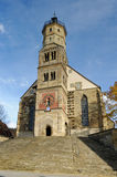 Schwaebisch Hall Church Royalty Free Stock Images
