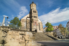 Schwaebisch Hall Royalty Free Stock Photos