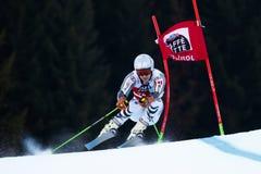 SCHWAIGER Dominik in Audi Fis Alpine Skiing World-Gi van Kopmen's royalty-vrije stock foto's