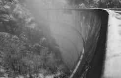 Schwall, hydroelektrisch stockfotos