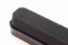 Schwamm für Fußbekleidung Stockbild