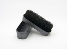 Schwamm für Schuhe Stockbild