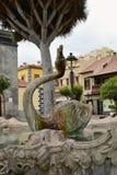 Schwan-Brunnen, Teneriffa, kanarische Inseln, Spanien, Europa Stockfotografie