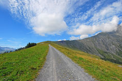 Schwandfeldspitz阿德尔博登,瑞士01 免版税库存照片