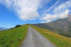 Schwandfeldspitz Adelboden, Suisse 01 Photo libre de droits