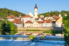 Schwandorf, Бавария Стоковые Фотографии RF