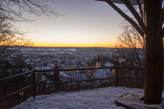 Schwandorf в зиме Стоковое фото RF