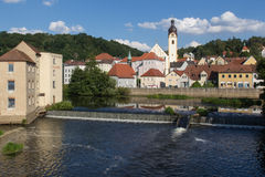 Schwandorf in Baviera Fotografie Stock