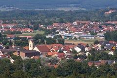 Schwandorf in Baviera Fotografie Stock Libere da Diritti