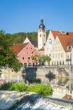 Schwandorf, Baviera Immagine Stock