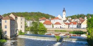 Schwandorf, Baviera Imagen de archivo libre de regalías