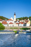 Schwandorf, Duitsland Stock Foto