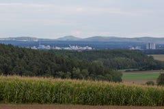 Schwandorf Schwandorf en Baviera Imagenes de archivo
