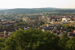 Schwandorf from the Top Stock Image