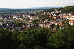 Schwandorf from the Top Stock Photography