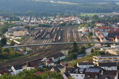 Schwandorf from the Top Royalty Free Stock Photos