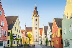 Schwandorf Tyskland Fotografering för Bildbyråer