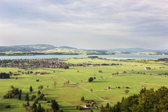 Schwangau μια κοιλάδα στη Βαυαρία Στοκ εικόνες με δικαίωμα ελεύθερης χρήσης