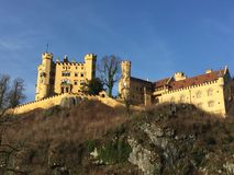 Schwangau, Bavaria, Germany. King Ludwig II's father built this castle in the Bavarian Alps. Picture taken in 2015 Stock Images