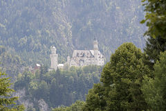 The Schwangau castle. At Tegel berg Germany Stock Images
