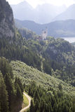 The Schwangau castle Royalty Free Stock Photo