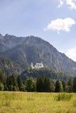 The Schwangau castle. At Tegel berg Germany Stock Photography
