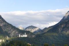 The Schwangau castle. At Tegel berg Germany Stock Image