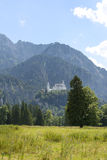 The Schwangau castle Royalty Free Stock Images
