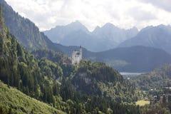 The Schwangau castle. At Tegel berg Germany Stock Photos